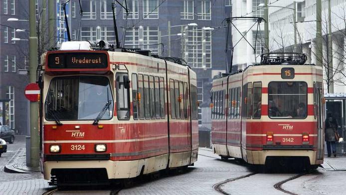 Trams in Den Haag
