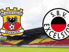 Go Ahead Eagles tegen Excelsior