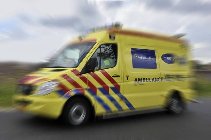 Ambulance. Foto Frans Nikkels