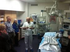 Wachtrijen voor kijkje in traumakamer en Intensive Care