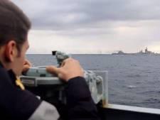 Russische oorlogsvloot rukt op naar het Kanaal