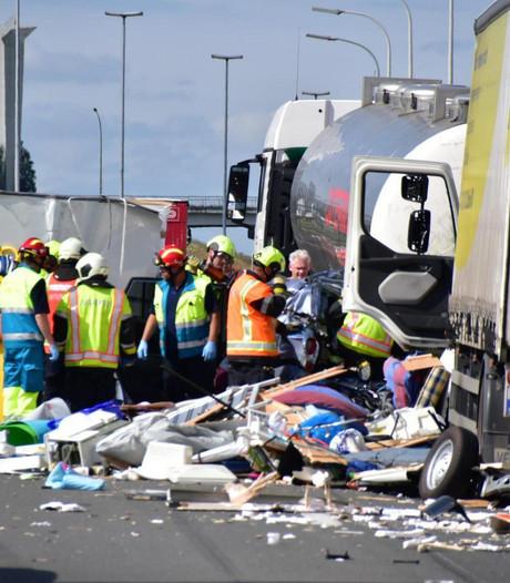 Nederlands gezin gewond door zwaar ongeval in België
