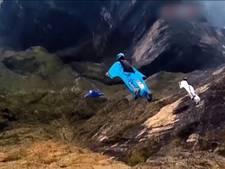 Spectaculaire beelden van WK Wingsuit vliegen