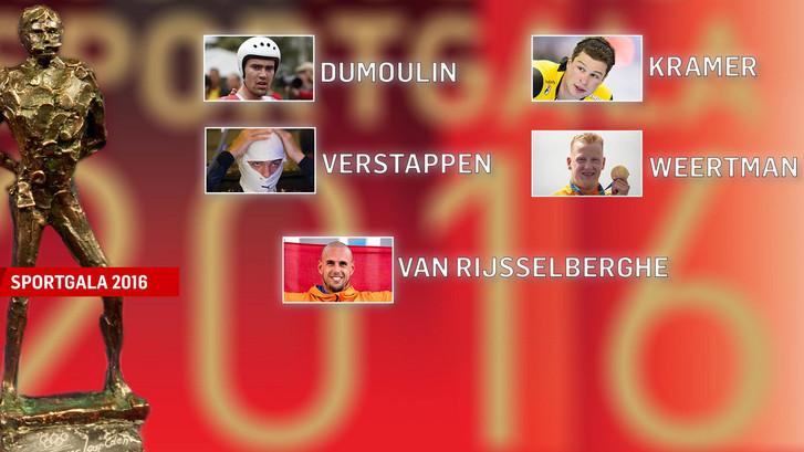 Weertman, Kramer en Verstappen bij nominaties Sportman 2016