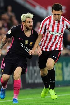 Barça wint zware uitwedstrijd in Bilbao na kopgoal Rakitic