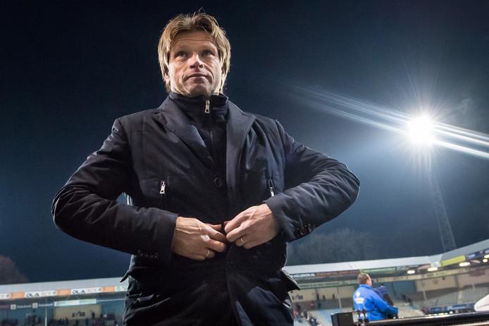 Jan Vreman na het gelijkspel tegen FC Volendam.