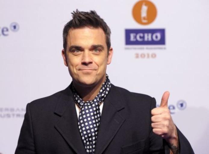Robbie Williams. ANP