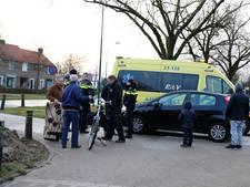 Fietster lichtgewond door botsing in Cuijk