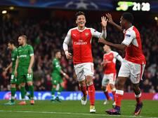Arsenal en Paris Saint-Germain dicht bij volgende ronde CL