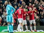 Feyenoord vecht maar is geen partij voor Manchester United