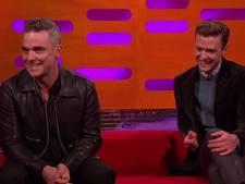 Robbie shockeert met erotisch verhaal bij Graham Norton