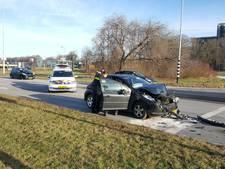 Schade bij kop-staartbotsing in Nijmegen