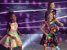 Meidengroep Kisses achtste op Junior Songfestival
