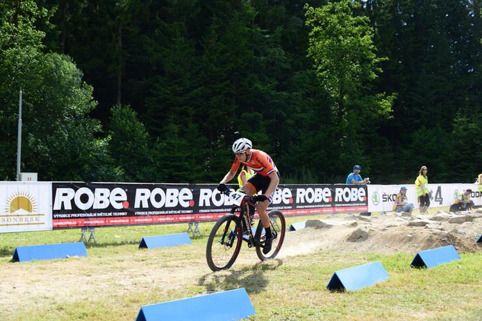 Mountainbiker Jeroen van Eck. Archieffoto Ivo Kerckhoffs