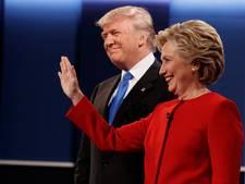 Clinton kalm, Trump opgefokt in eerste debat