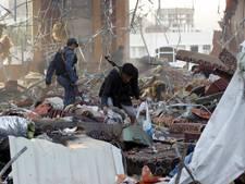 Luchtaanvallen na einde wapenstilstand Jemen