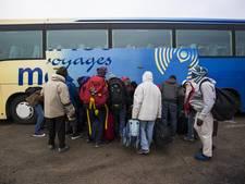 Ontruiming Calais verloopt rustig en georganiseerd