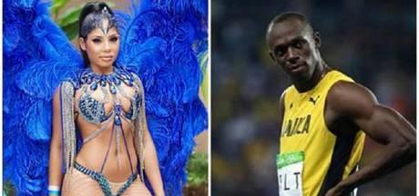 Vriendin van Bolt reageert op social media op vreemdgaan