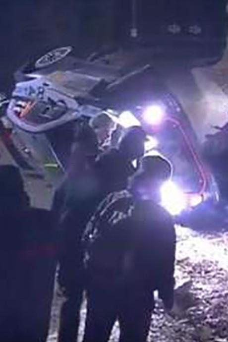 VIDEO: Toeschouwer komt om bij Rally Monte Carlo