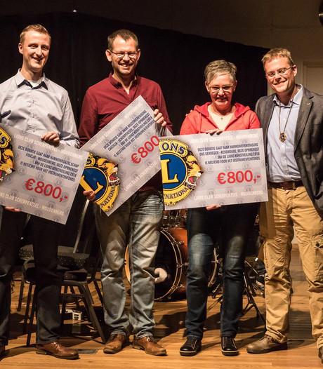 Harmonie Woudenberg krijgt steun van Lions
