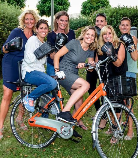 Schiedamse boksvrouwen liggen in deuk na jacht op fietsendief