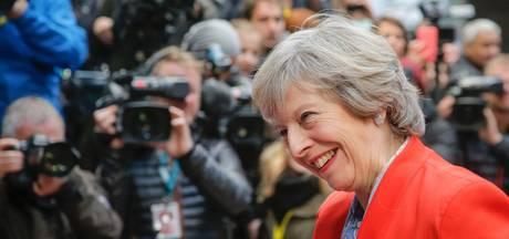 Britse premier May waarschuwde bankiers voor gevolgen brexit