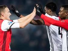 Feyenoord legt druk bij achtervolgers na nipte zege op Willem II