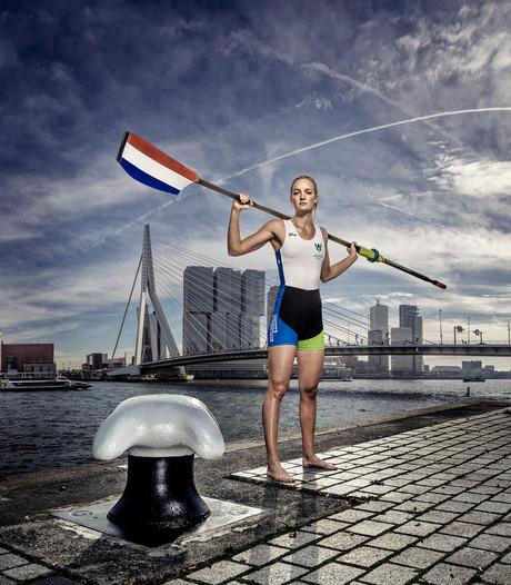 'Roeibabe' Marieke kan de druk aan en wint WK-jeugd