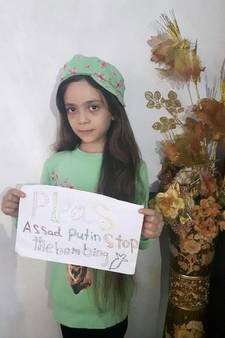 Noodkreet vanaf account twittermeisje Bana uit Aleppo