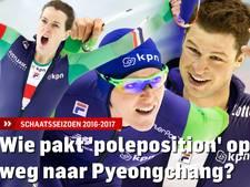 Wie pakt 'poleposition' op weg naar Pyeongchang?