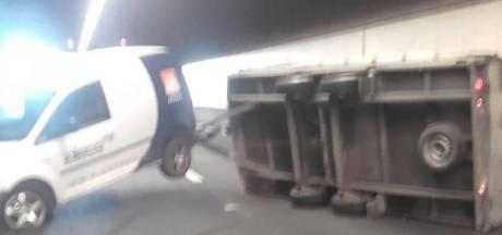 Botlektunnel gestremd door ongeluk