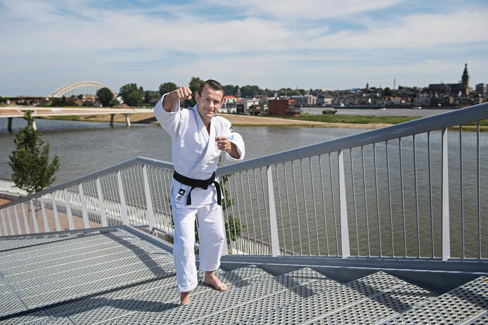 Judoka Jeroen Mooren in zijn Nijmegen