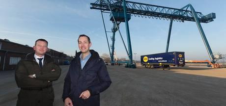 Containerterminal Rotra is na baggerwerk helemaal af