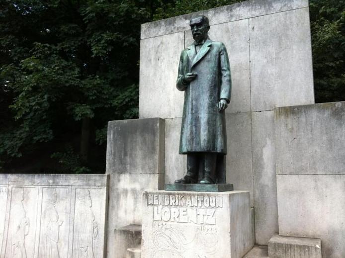Het Lorentz-monument in het Arnhemse Park Sonsbeek voor de restauratie. Foto Marco Bouman/DG