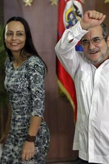 Tanja viert alvast de vrede, maar Colombia danst nog niet mee