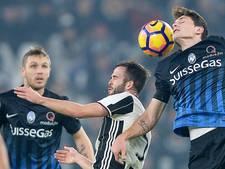 Juventus snel langs Atalanta