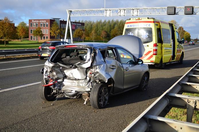 Bij het ongeluk zijn meerdere gewonden gevallen.