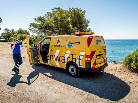 Pech op de weg in Frankrijk, daar is de ANWB!