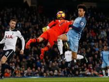 City laat Tottenham Hotspur terugkomen