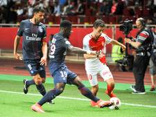 Paris Saint-Germain onderuit in Monaco