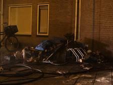 Brand in schuur van appartementencomplex Dieze