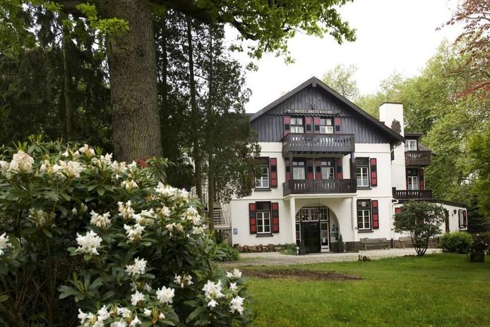 Hotel Dreyeroord is opgetrokken in de stijl van een Zwitsers chalet.