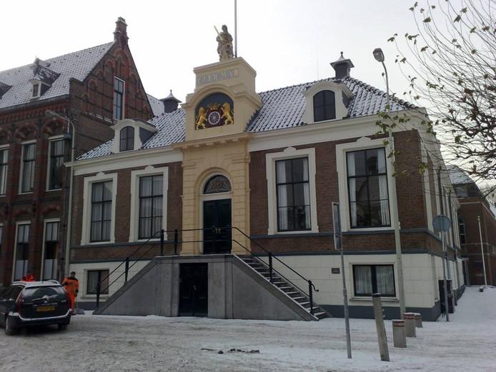 Het oude deel van het Wageningse stadhuis.