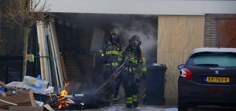 Sauna verwoest: 'we moeten alles weer opbouwen'