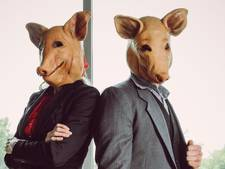 Seksend Zweeds stel in varkensmaskers schrikt Pokémonjagers weg met lasers