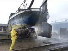 Lage waterpeil speelt Nijmeegs scheepswerf parten