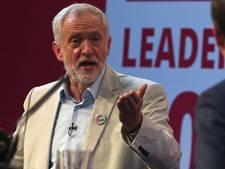 Partijleider Jeremy Corbyn in het nauw na vals treinfilmpje