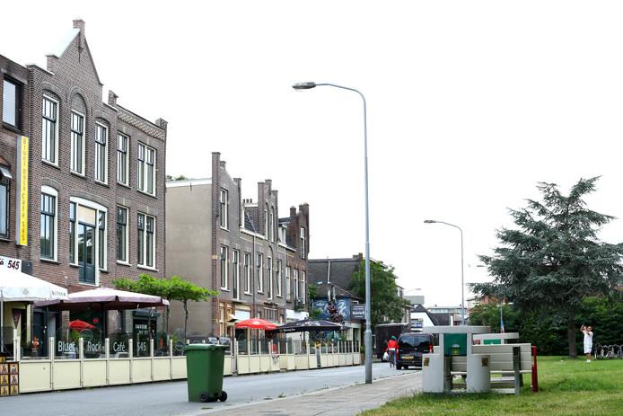 De horeca aan de Parkweg in Ede-Zuid.