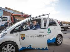 Eerste elektrische auto voor gemeente Heerde