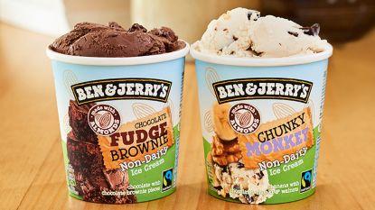 Ben & Jerry's brengt zuivelvrij ijs nu ook in België op de markt